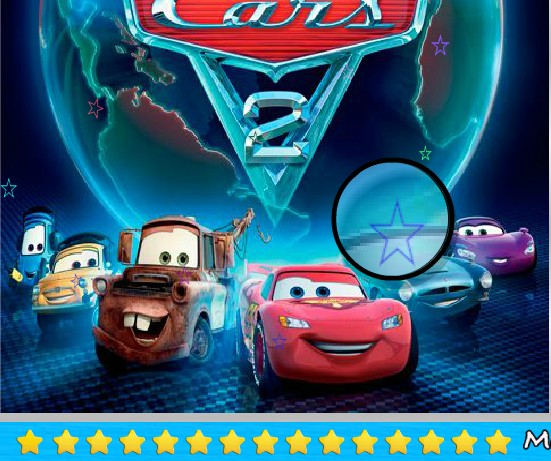 Play Cars 2 Spot The Numbers Game