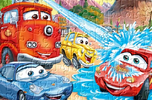 Play Lightning McQueen Puzzle 2 Game